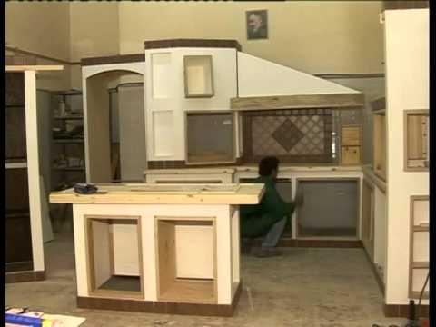 cucina in finta muratura prefabbricata di Francesco Moscarelli caltanissetta