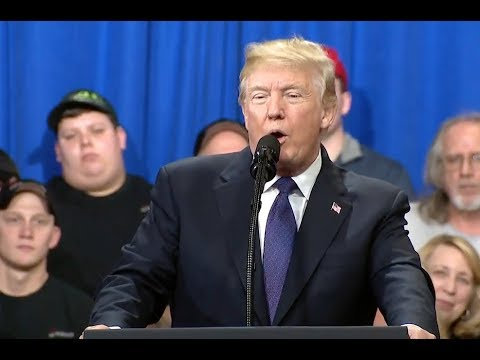 Trump Touts Economy As Stock Market Melts Down - Full Speech
