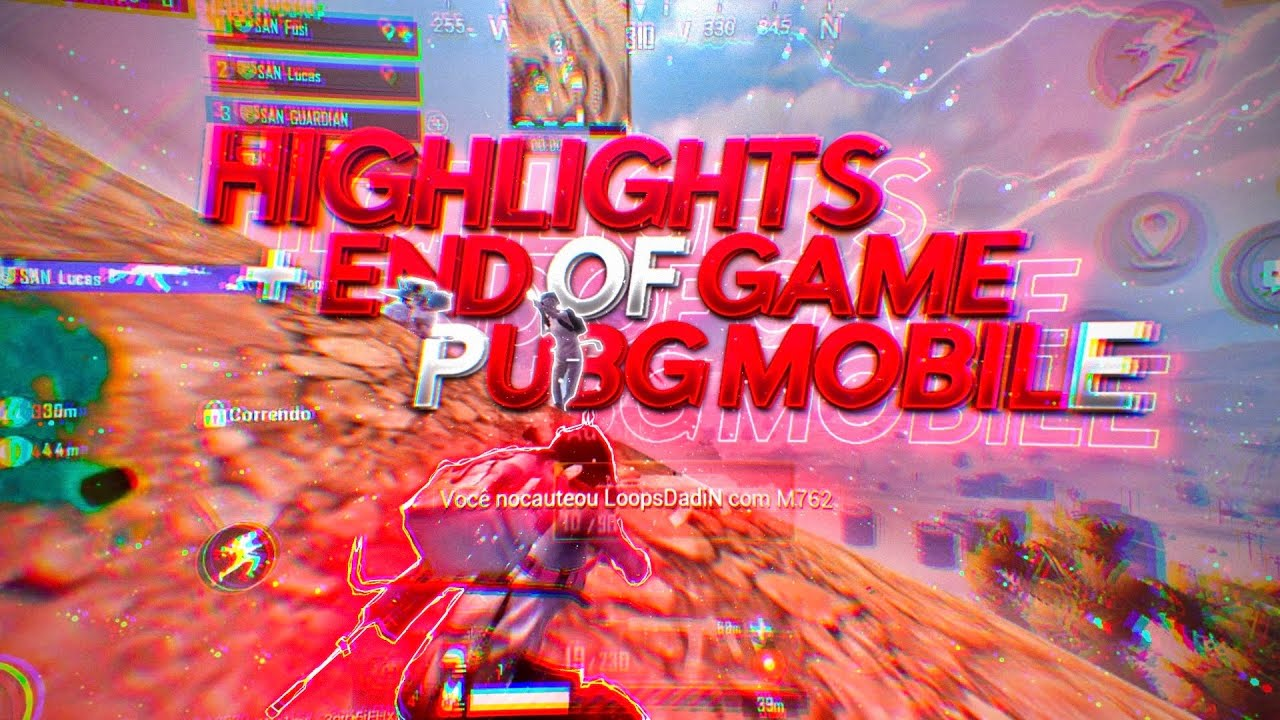 HIGHLIGHTS + END OF GAME # 68 |  PUBG MOBILE |  IPHONE 8 OF 4.7
