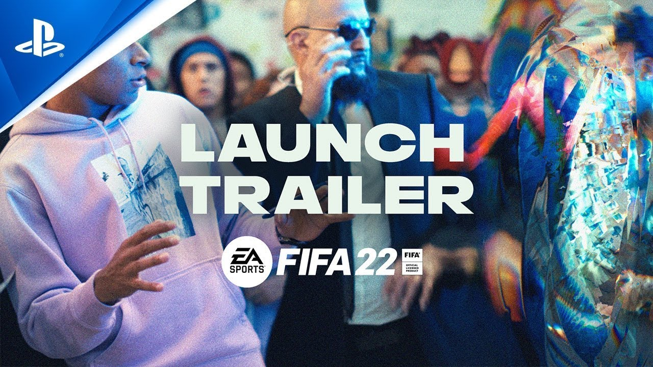 FIFA 22 - Official Launch Trailer: HyperMotion Begins | PS5, PS4