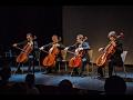 Prague Cello Quartet ve Studiu live