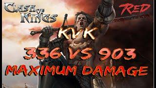 Clash of Kings KvK 336 vs 903 Максимальный урон!!!