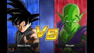 Xenoverse 2 - Requested match: Goku Black vs Piccolo
