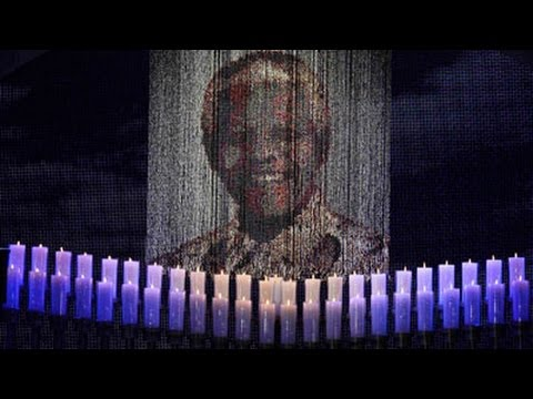 Nelson Mandela's statue unveiling at the Union Building