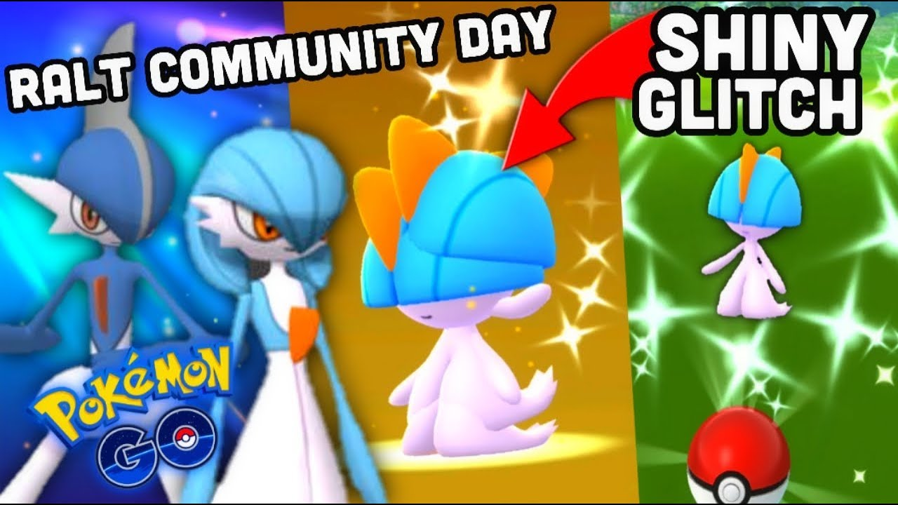 CRAZY SHINY RALTS CATCHES IN POKEMON GO | SHINY GALLADE & GARDEVOIR