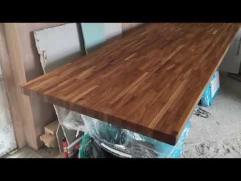 Worktops Danish Oil Rustin