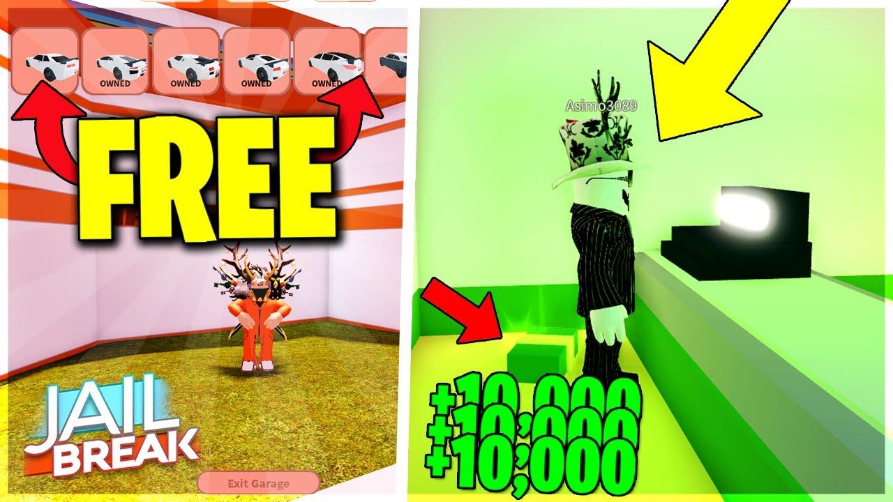 Top 3 Glitches In Jailbreak Roblox Roblox Top Glitch Youtube