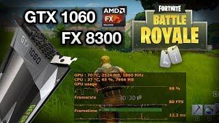 Fortnite Battle Royale: GTX 1060 + FX 8300 4.0 GHz 60 FPS? Detalhes em EPIC e BAIXO