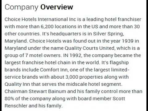 Choice Hotels International, Inc Corporate Office Contact Information