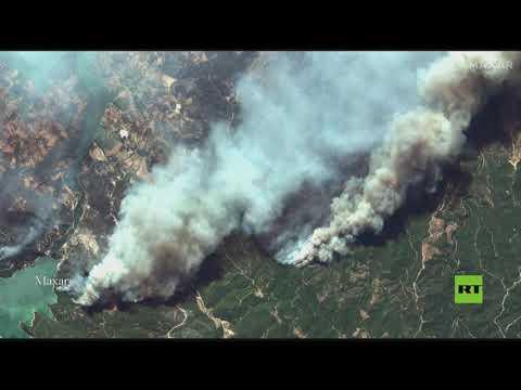 صور من الفضاء تظهر مدى انتشار الحرائق في تركيا  - 23:54-2021 / 7 / 30