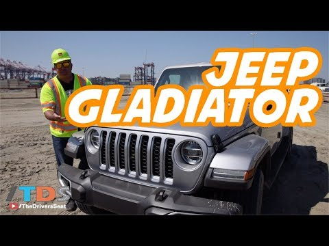 Jeep Gladiator Pickup Truck Review