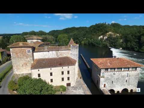 Les plus beaux sites du lot-et-Garonne @SKYDRIC