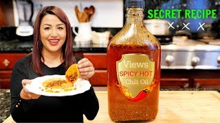 MEXICAN STYLE SEASONED SPICY HOT CHILI OIL | FOR CHICKEN, TACOS, BURRITOS CHIPS JUST EVERYTHING
