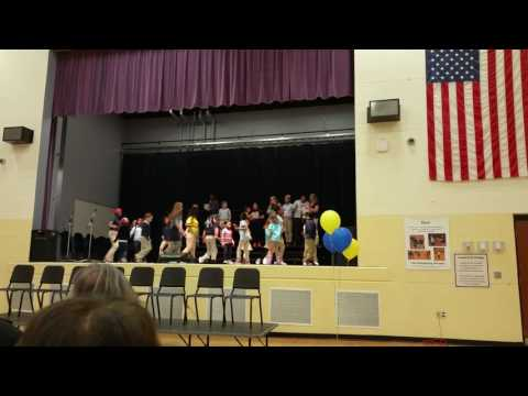 Cheviot Elementary School Students Dance for Leadership Day