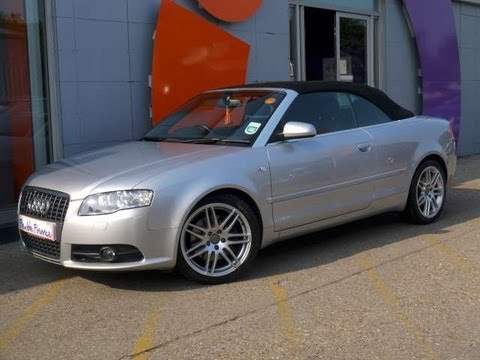 2008 Audi A4 Cabriolet S Line 2l For Sale In Hampshire Youtube