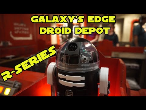Build Your Own Driod - R Series Unit with Princess - Batuu at Hollywood Studios Galaxy's Edge