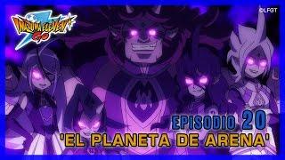 Inazuma Eleven Go Galaxy - Episodio 20 español «El planeta de arena»
