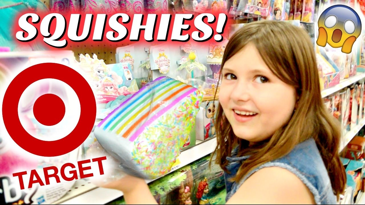 SQUISHIES AT TARGET Squishy Slime Shopping Vlog SKIT