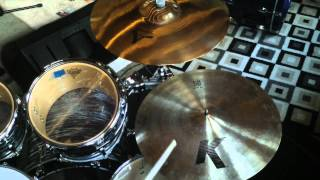 "Ride Cymbal Comparison - Paiste 2002, Zildjian K, and Dream Bliss - All 20"" cymbals"