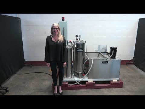 Ebbco Inc Closed Loop Water Jet Filtration System Demonstration