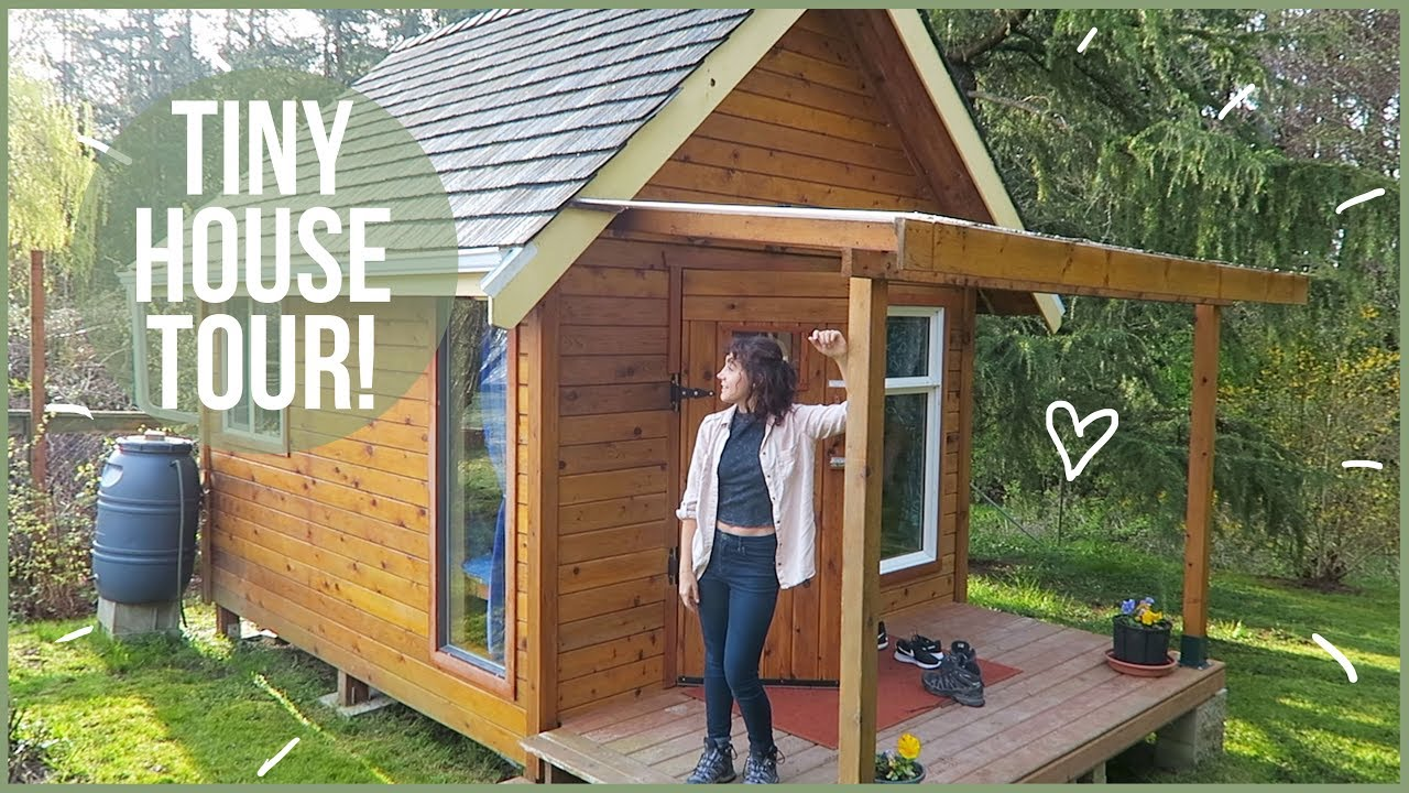Tour Of Our Tiny House On Vancouver Island Youtube