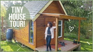 Tour Of Our Tiny House On Vancouver Island!!