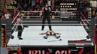 WWE 2K18 The Miz vs Chris Harper Rematch at Hell in a Cell