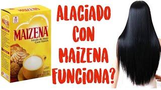 Cabello Lacio De Forma Natural Con Maizena   KERATINA CASERA