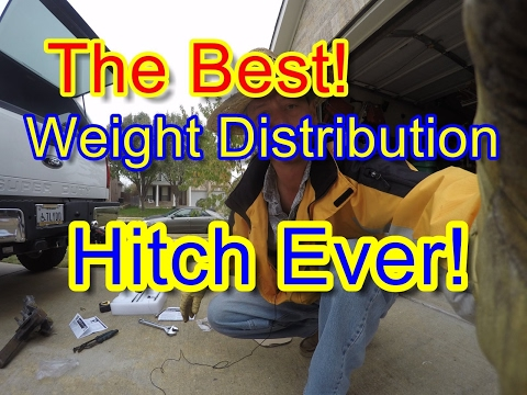 The Best Weight Distribution Hitch!   Camco R6 Weight Distribution Hitch