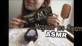 Magnum dondurma ASMR | Magnum Ice Cream ASMR | Türkçe ASMR