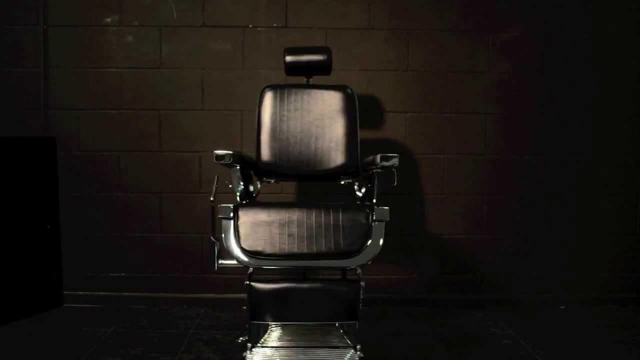 Bella sedia da barbiere vintage sedie da giardino