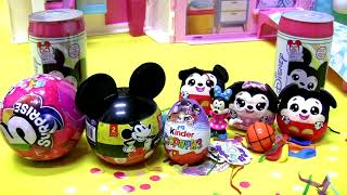 Surprise toys Kinder egg Mickey & Minnie pop-up soda can Zuru 5 surprise