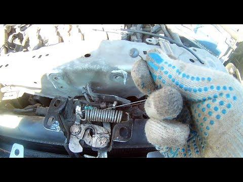 Как открыть капот хонда срв