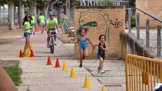 """Triatleta Prebenjamín - """"Vivo Por Ella"""" -  Tudela (Navarra) 13/07/2013"""