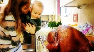 BABY'S FIRST THANKSGIVING!!