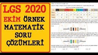 Ekim LGS 2020 Matematik Örnek Sorular Açıklamalı Çözümler Ve Yorumlar