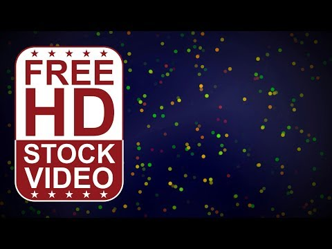 FREE HD video backgrounds – abstract animated simple particles dots floating moving slowly