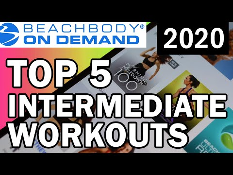Top 5 Beachbody workouts 2020 // Intermediate levels of fitness
