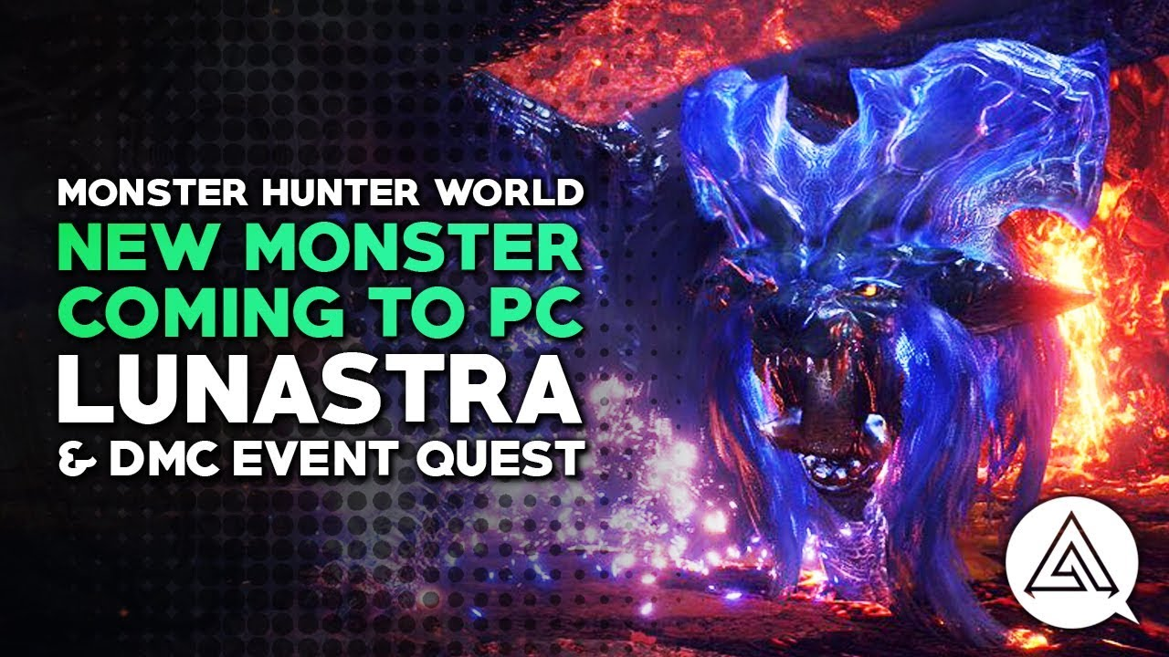Lunastra comes to Monster Hunter World on PC next week - VG247