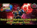 Thanos BnB + Palm Breaker Combo guide with Slow-mo and Inputs - Marvel vs Capcom: Infinite