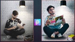 Picsart study boy photo editing step by step / exame time study photo editing in picsart