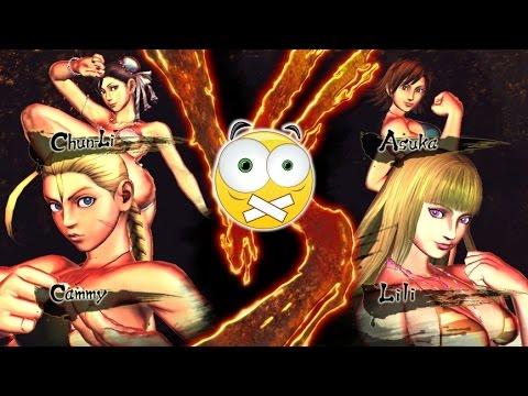 Street Fighter X Tekken PC - POISON IVY - LILI SUPER STAR