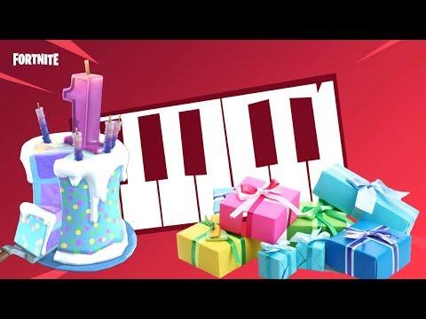 TUTORIAL Happy Birthday Song In FORTNITE MUSIC BLOCKS!..