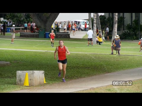 2014 Girls Cross Country: Punahou Invitational (October 4, 2014)