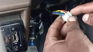 CNG CAR START SWITCH PROBLEM | URDU HINDI TUTORIAL