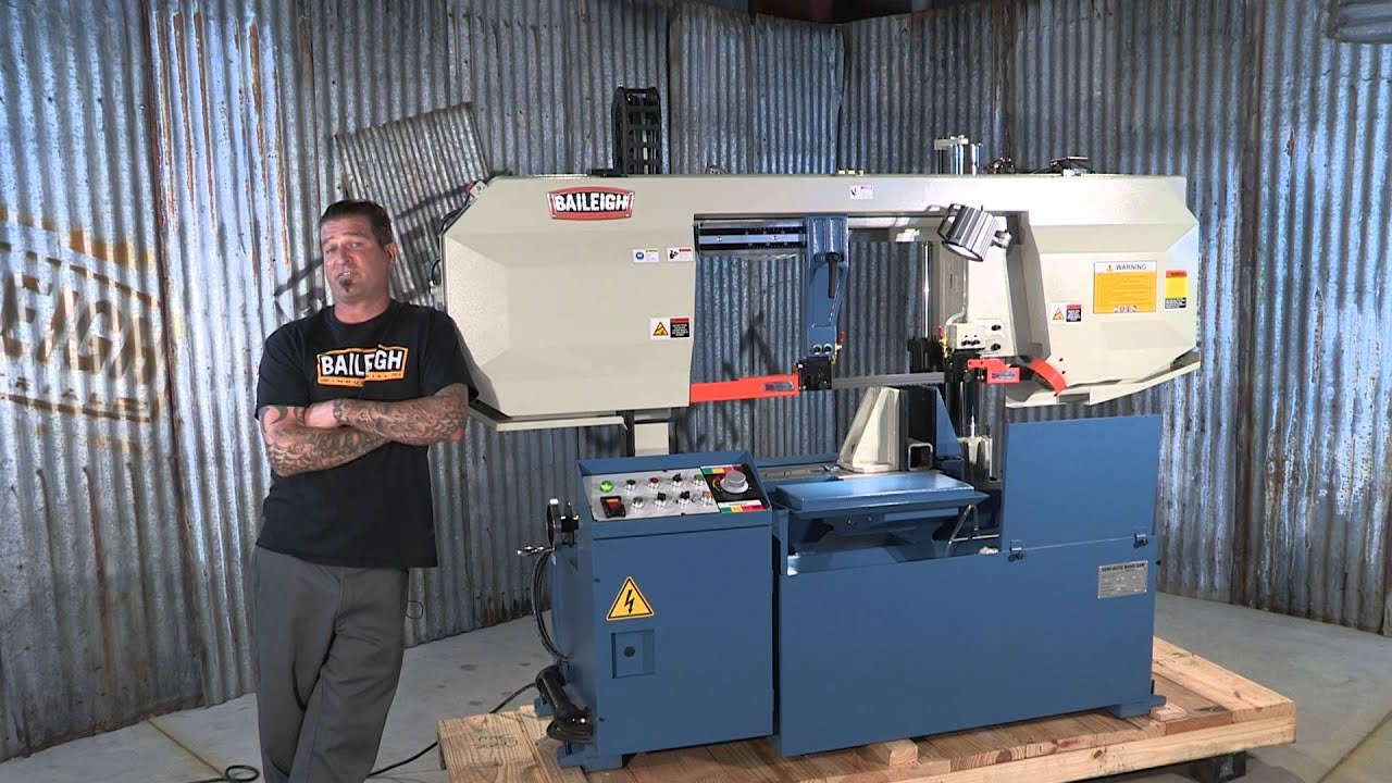 Baileigh Industrial Bs 360sa Semi Automatic Bandsaw