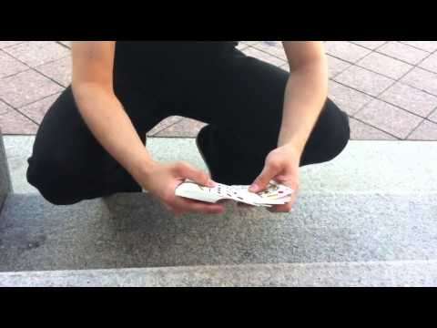 Нереальный карточный фокус Интересное, страшное и невероятное видео, явление