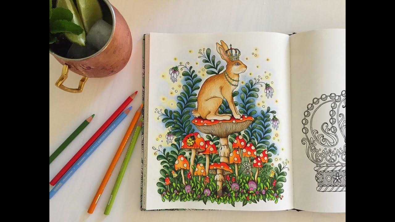Daydreams (Dagdrömmar) Coloring Book | The Bunny King | Coloring ...