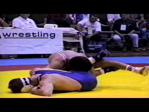 1995 World Cup: 62 kg Magomed Azizov (RUS) vs. Marty Calder (CAN)