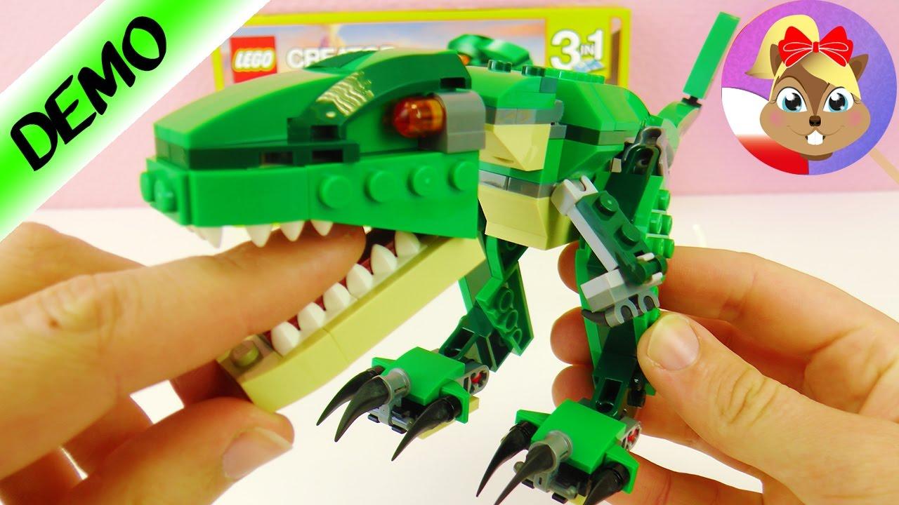 Lego Creator Dinozaury 3 W 1 T Rex O Ostrych Zębach I Pazurach